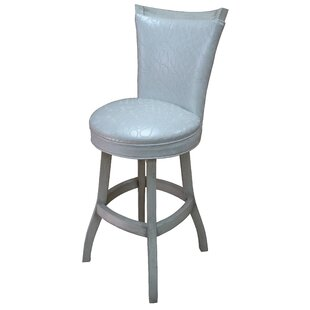 Kenley 35 Swivel Bar Stool Highland Dunes