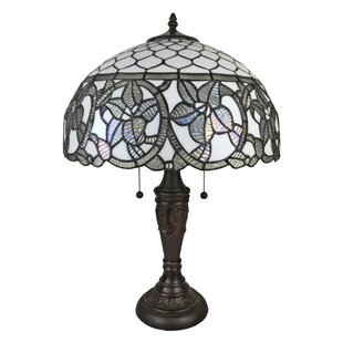 Reviews Tiffany Style 24 Table Lamp By Amora Lighting