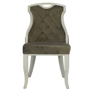 Compare prices Trotman Velvet Serenity Upholstered Dining Chair (Set of 2) by Ophelia & Co. Reviews (2019) & Buyer's Guide