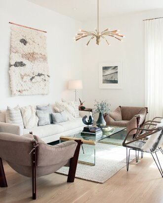 How To Decorate A Large Wall Wayfair Mesmerizing How To Decorate A Large Living Room
