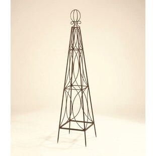 Southern Patio® Deer Park Steel Obelisk Trellis