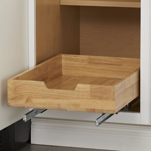 Wood Pull Out Drawer by Rebrilliant
