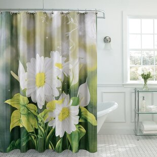 Fancy Daisy Single Shower Curtain
