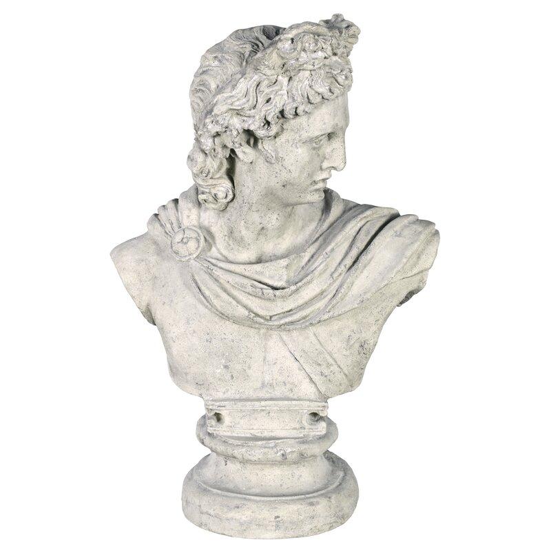 Apollo Belvedere Bust Statue