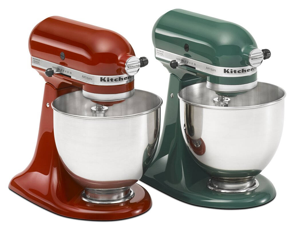 KitchenAid Artisan Series 5 Qt. Stand Mixer with Stainless Steel ...