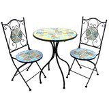 Glassman 3 Piece Bistro Set