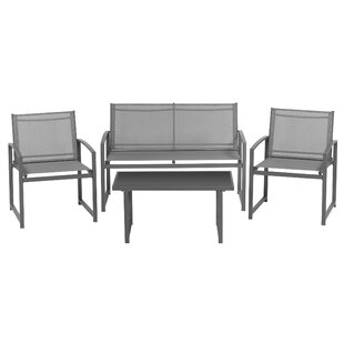 Coghill 4 Seater Sofa Set By Sol 72 Outdoor