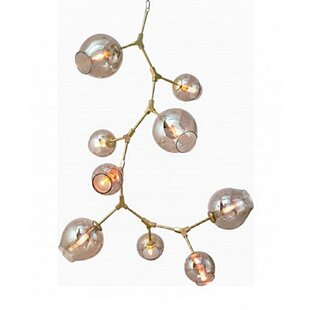 Brayden Studio Lemanski 9-Light Sputnik Chandelier