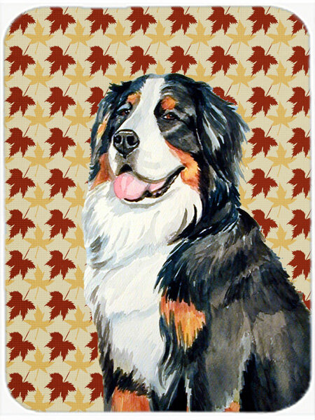 East Urban Home Bernese Mountain Dog Portrait Glass Cutting Board Wayfair