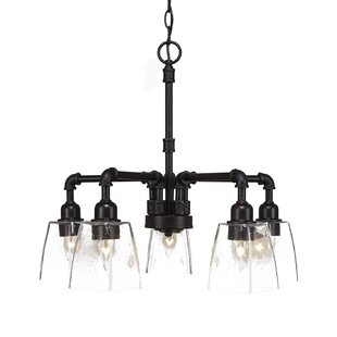 Red Barrel Studio Bonview 5-Light Candle-Style Chandelier