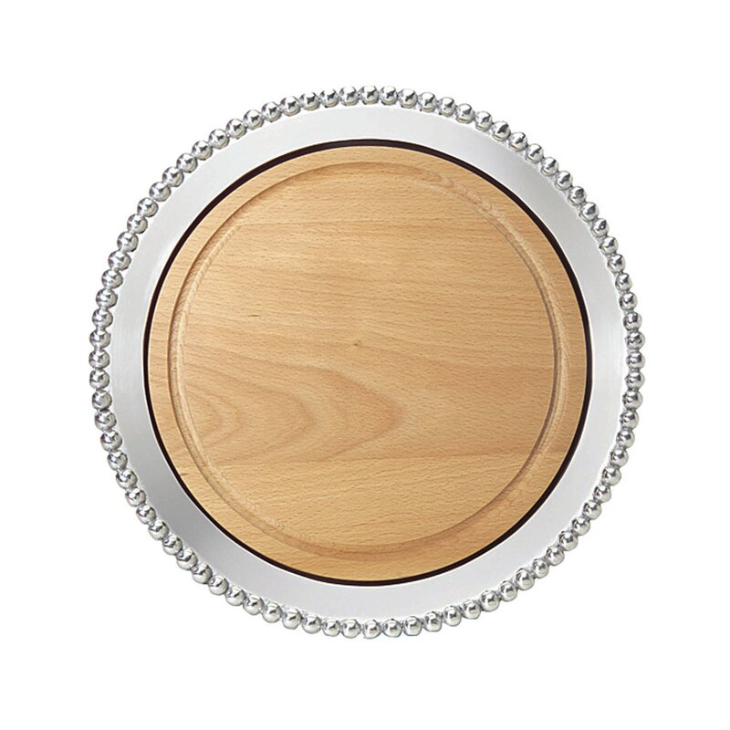 Mariposa String Of Pearls Cheese Board And Platter Wayfair