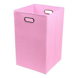 Modern Littles Rose Folding Laundry Hamper