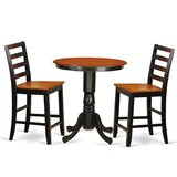 Southard 3 Piece Counter Height Pub Table Set by Charlton Home®