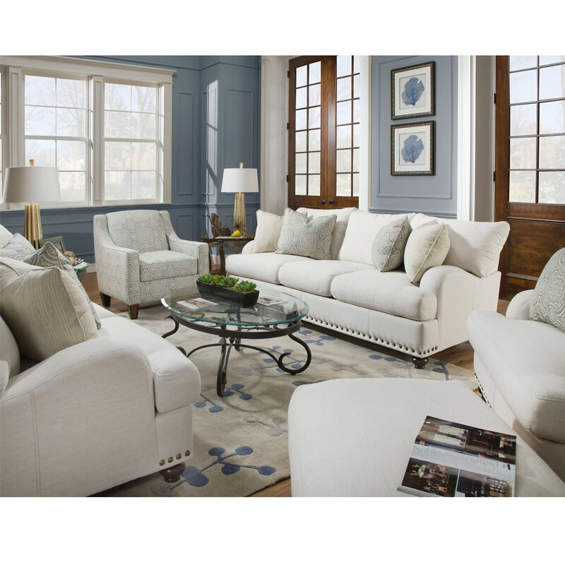 Darby Home Co Carrier Configurable Living Room Set