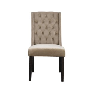 German Upholstered Dining Chair (Set of 2..