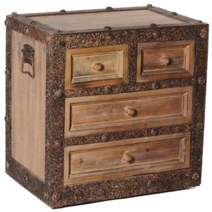 Wrenn Wooden 4 Drawer Accent C..