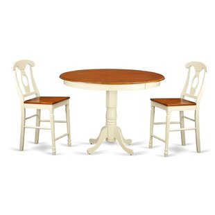 Trenton 3 Piece Counter Height Pub Table Set