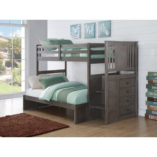 Downer Stairway Bunk Bed by Harriet Bee #1