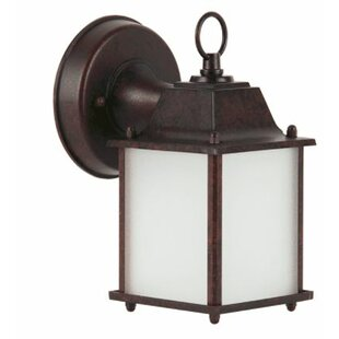 Higdon Outdoor Wall Lantern by Charlton Home