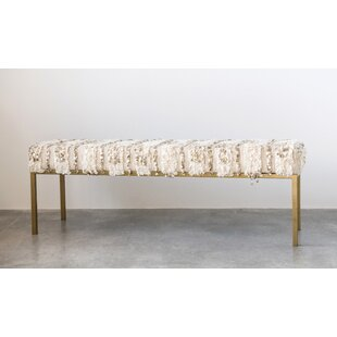 Etienne Upholstered Bench by Everly Quinn