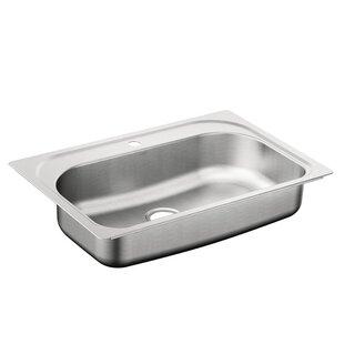 Moen 1800 Series Stainless Steel Single Bowl 33