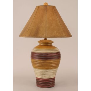 Rustic Living Pottery Pot 29 Table Lamp