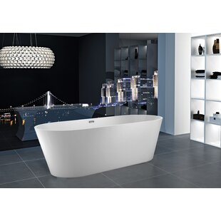 55 59 Inches Freestanding Bathtubs You Ll Love Wayfair