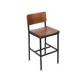 Solid Wood 26'' Counter Stool by BFM Seating