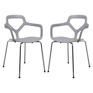 Carney Arm Chair (Set of 2) by LeisureMod