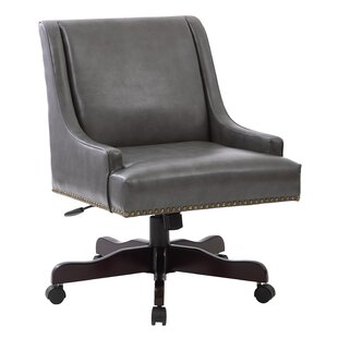 Beachcrest Home Ironwood Mid-Back Desk Chair