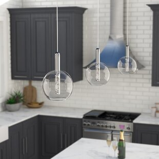Coupon Sipos 1-Light  LED  Pendant By Orren Ellis