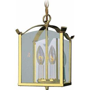 2-Light Semi Flush Mount by Volume Lighting