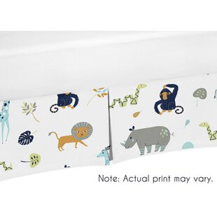 Read Reviews Mod Jungle Crib Bed Skirt By Sweet Jojo Designs