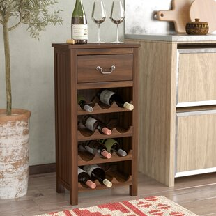 Westby 12 Bottle Floor Wine Bottle Rack b..