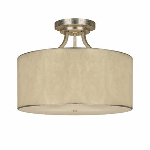Lark Manor Lecompte 3-Light Semi Flush Mount