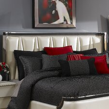 Beverly Boulevard Upholstered Panel Headboard by Michael Amini (AICO)