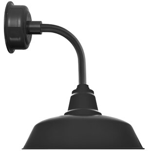 Trim Goodyear 1-Light LED Barn Light by Cocoweb