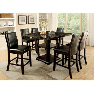 Zigler Minor 7 Piece Pub Table Set Latitude Run