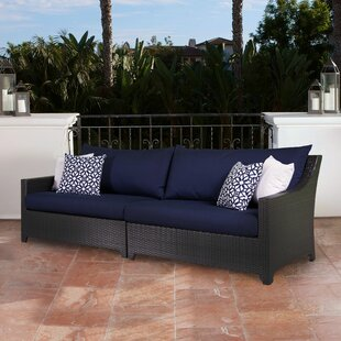 Northridge Patio Sofa With Sunbrella Cushions by Three Posts Design
