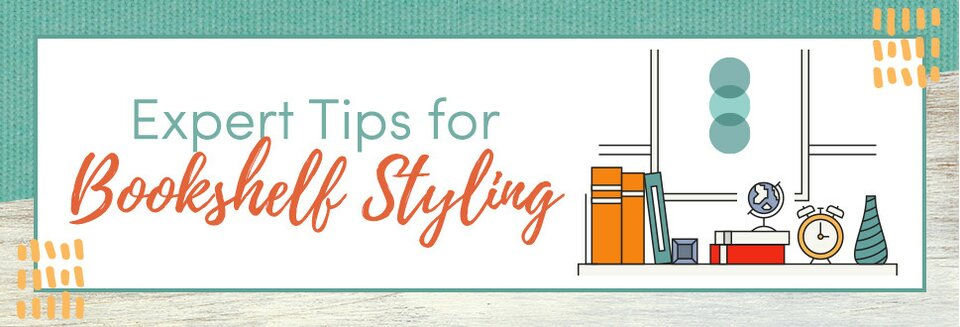 expert tips for bookshelf styling