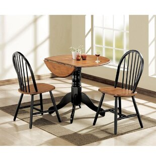 Melendez 3 Piece Pub Table Set August Grove
