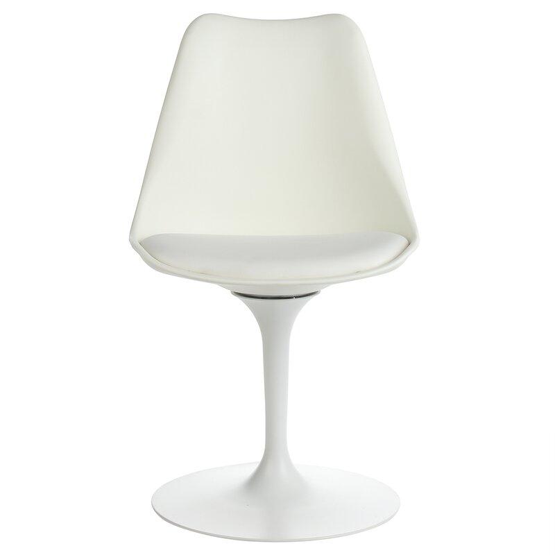Sinkler Mid Century Modern Swivel Upholstered Dining Chair