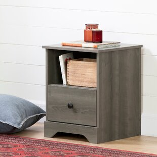 Volken 1 Drawer Nightstand by South Shore