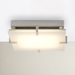 Brayden Studio Ponton 1-Light Flush Mount