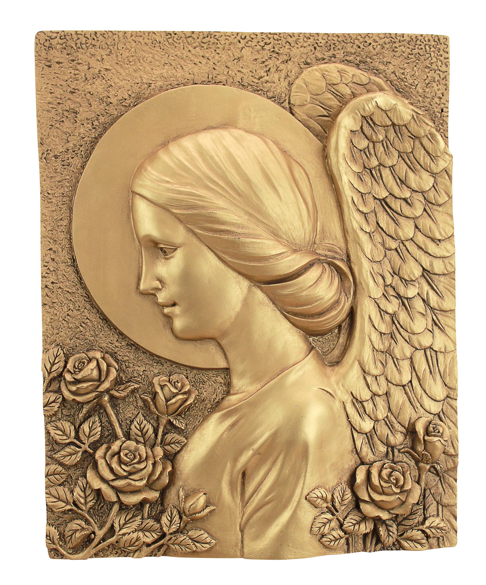Design Toscano Barachiel the Archangel of Blessings Wall Décor | Wayfair