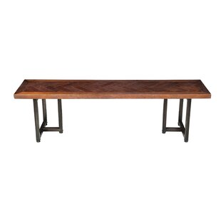 Union Rustic Suismon Wood Bench
