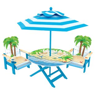 Kids' 3 Piece Round Table and Chair Set by O'Kids Inc.