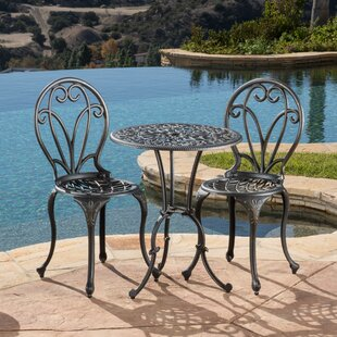 Tenafly 3 Piece Bistro Set