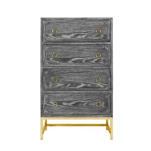 Savings Upright 4 Drawer Dresser by Worlds Away Reviews (2019) & Buyer's Guide