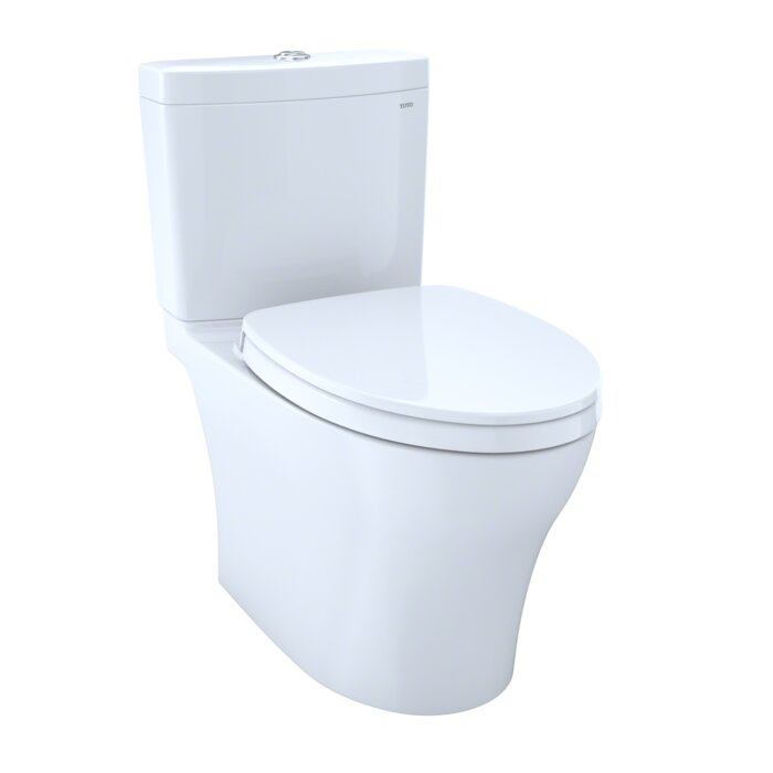 Toto Aquia IV 1G Dual Flush Elongated Two-Piece Toilet with ...